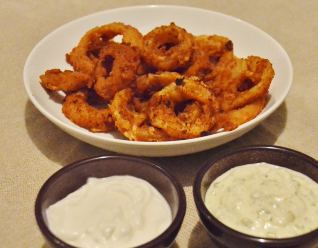 Anéis de Cebola (Onion Rings)